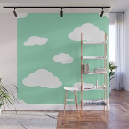 Paper Airplanes - You Can Fly - Cloud Variation - Julep Wall Mural