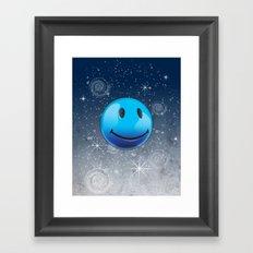 Sparkle Night Framed Art Print