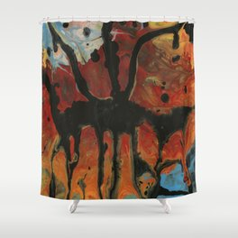 Groucho Mark Shower Curtain
