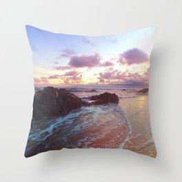 Beach Confection Throw Pillow