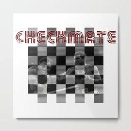 Checkmate Metal Print