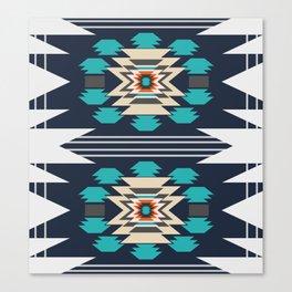 Double ethnic decor Canvas Print
