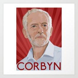 Corbyn Art Print