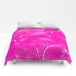 Texture #26 in Hot Pink Comforters