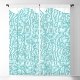 Waves Blackout Curtain