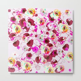 Floral 515 22 Metal Print