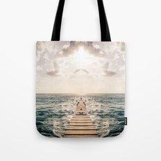 Kaleidoscape: Caye Caulker Tote Bag