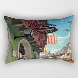 Howls Moving Castle Rectangular Pillow
