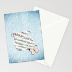 Reiki Principles No.1 Stationery Cards