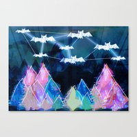 bats Canvas Prints featuring bats by Itsybats