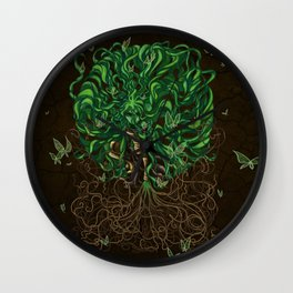 Earthbender Wall Clock