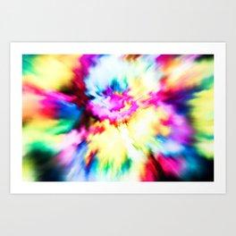 Blasted Flowers Art Print