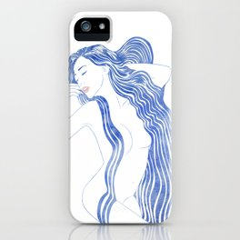 Water Nymph XXXVI iPhone Case