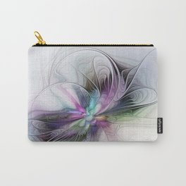 New Life, Abstract Fractals Art Carry-All Pouch