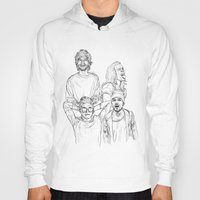 one direction Hoodies featuring One Direction by Cécile Pellerin