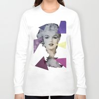 marilyn Long Sleeve T-shirts featuring Marilyn by Esco