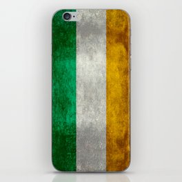 Flag of the Republic of Ireland, Vintage style iPhone Skin