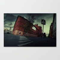 surrealism Canvas Prints featuring surrealism by Chirko.Roman