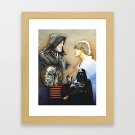 The Way of the Force Framed Art Print