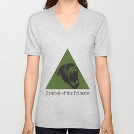 Symbol of the Primate Unisex V-Neck