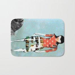 Girl with Snail Bath Mat