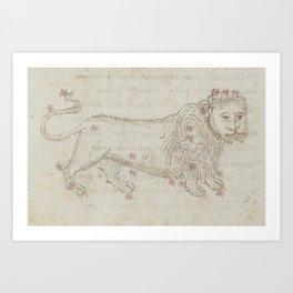 Basinio de Parma - Leo, the Lion (1540s) Art Print