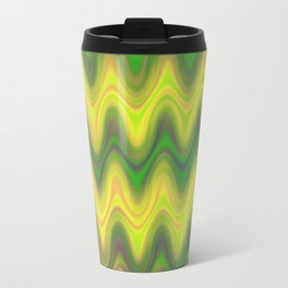 Agate Wave Green - Mineral Series 002 Travel Mug