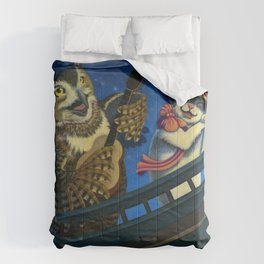 The Owl And The Pussycat Comforters