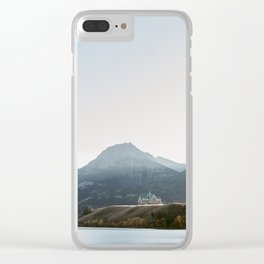 Prince of Whales Hotel - Waterton, Alberta Clear iPhone Case