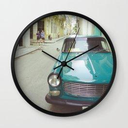 AROUND CUBA Wall Clock