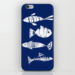 Sea fishes iPhone Skin