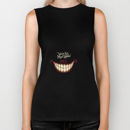 Crazy smile Biker Tank