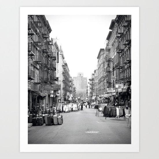 Lower East Side Market Art Print