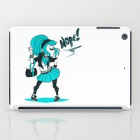 nope iPad Cases featuring Nope! by roryseviltwin