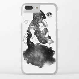 The feeling you gave me. Clear iPhone Case