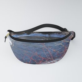 Cold River Running Fanny Pack