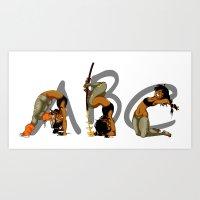 easy as ABC Art Print