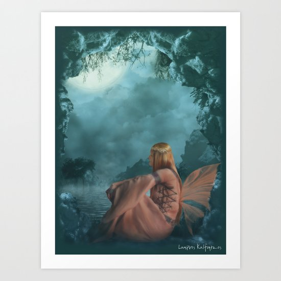 Russian Princess Art Print