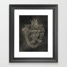Ravenclaw House Framed Art Print