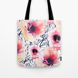 Roses on Sticks Tote Bag