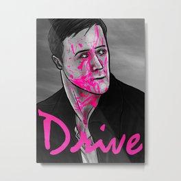 Drive Poster v2 Metal Print