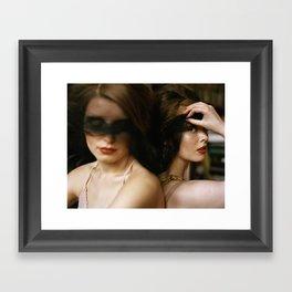 Painterly Framed Art Print