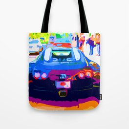 Bugatti Veyron On Rodeo  Tote Bag