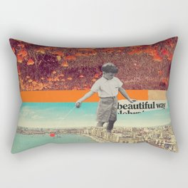 Beautiful Way Rectangular Pillow