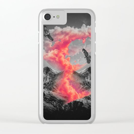Burn Brighter In the Dark Clear iPhone Case