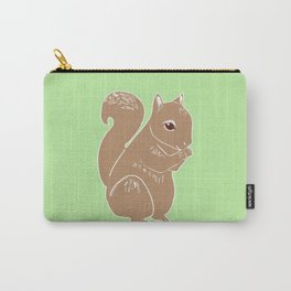 Light Brown Squirrel Carry-All Pouch