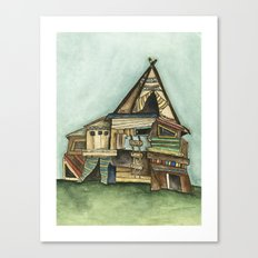 TePee Fort Canvas Print