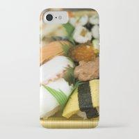 sushi iPhone & iPod Cases featuring SUSHI by Sara Ahlgren