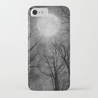 tolkien iPhone & iPod Cases featuring May It Be A Light (Dark Forest Moon) by soaring anchor designs