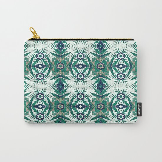 Tropical Snowflakes Carry-All Pouch